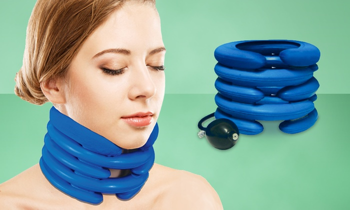 Inflatable Neck Support Cushion Groupon Goods