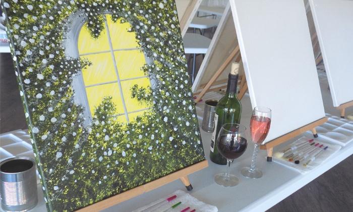 I.C.I. Studio - Sycamore: Two-Hour Painting Lesson at I.C.I. Studio (34% Off)
