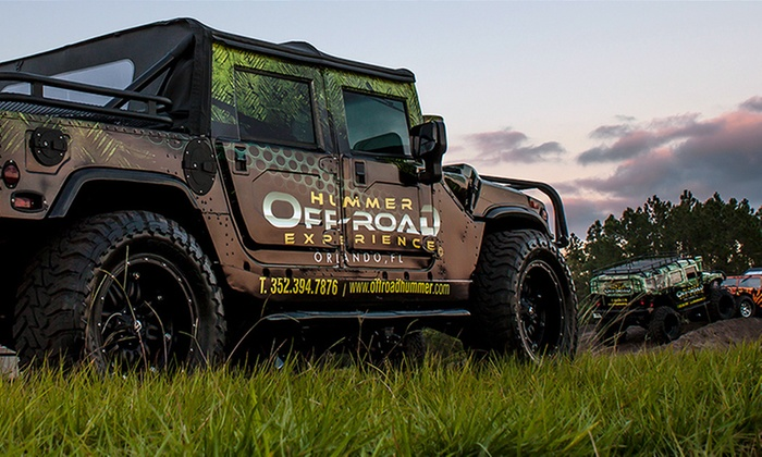 Off Road Hummer - Clermont: $163 for a Safari Party Hummer Experience for Two at Off Road Hummer ($275 Value)