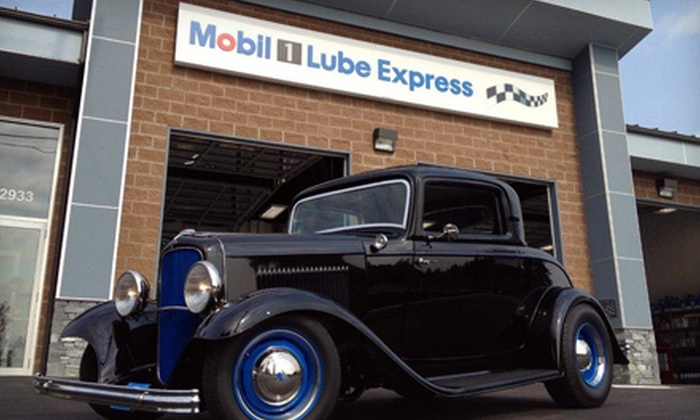 Mobil 1 Lube Express - Duncan: Standard Oil Change with Optional Wiper-Blade Replacement at Mobil 1 Lube Express (Up to 52% Off)