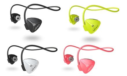 1 o 2 auriculares Bluetooth Avanca D1 con opción a pulsera deportiva para smartphone