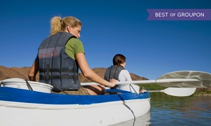 Newport Fun Tours: Three-Hour Kayaking Trip with Lunch for Two or Four from Newport Fun Tours (65% Off)