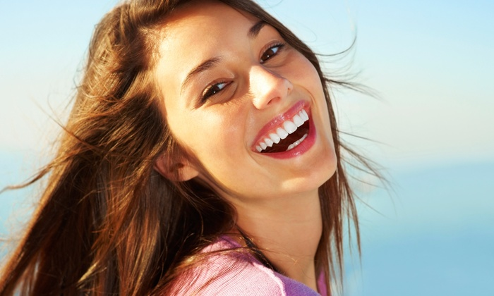 Whiten-up - redding: $192 for Two Cool Blue Light Teeth-Whitening Treatments from whiten up (68% Off)