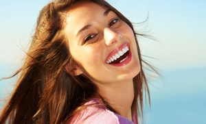 Whiten-up: $192 for Two Cool Blue Light Teeth-Whitening Treatments from whiten up (68% Off)