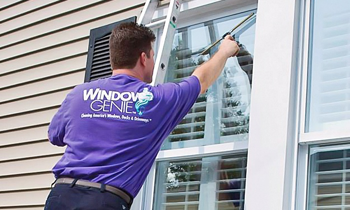 Window Genie of Jacksonville Beaches - Jacksonville: Pressure Washing or $49 for $100 Toward Window Cleaning from Window Genie of Jacksonville Beaches