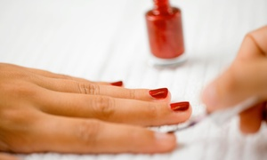 Nicole at Mirror Image Hair Design: Up to 42% Off Mani-Pedis by Nicole at Mirror Image Hair Design