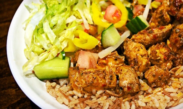 Mezze - New Albany: $10 for $20 Worth of Mediterranean Fusion Fare and Drinks at Mezze