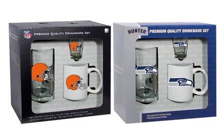NFL Drinkware Gift Set