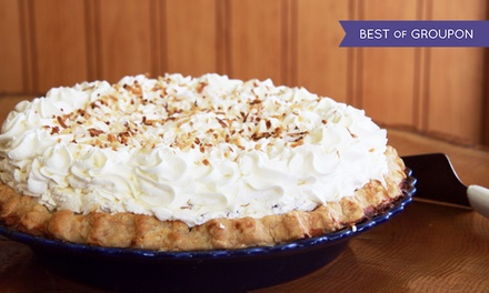 One or Three Groupons, Each Good for $20 Worth of Pies at Michele's Pies (Up to 45% Off)