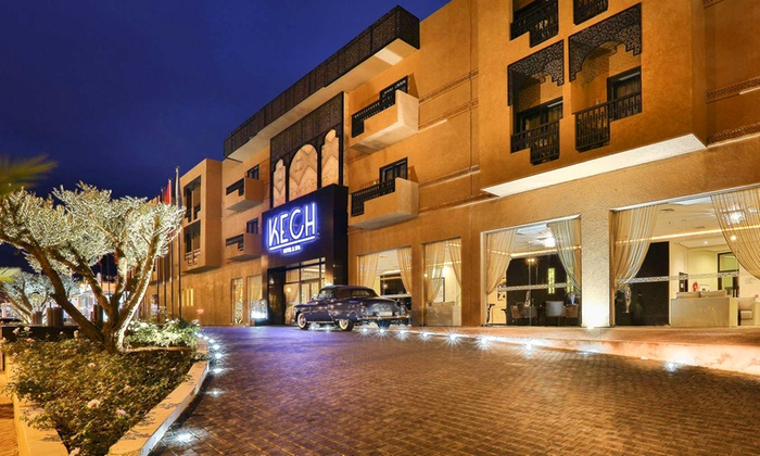 Kech boutique h tel spa in marrakech groupon getaways for Boutique hotel group