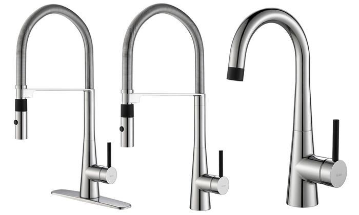 kraus crespo kitchen faucets groupon goods. Black Bedroom Furniture Sets. Home Design Ideas