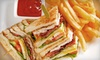 The Limit Restaurant & Bar - Flourtown: Pub Dinner with Entrees and Appetizers for Two or Four at The Limit Restaurant & Bar (Up to 64% Off)