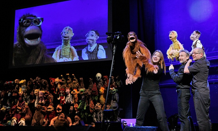 """Henson Alternative's """"Puppet Up: Uncensored"""" - Carnegie Library Music Hall: Henson Alternative's """"Puppet Up: Uncensored"""" at Carnegie Library Music Hall on March 12 at 8 p.m. (Up to 58% Off)"""