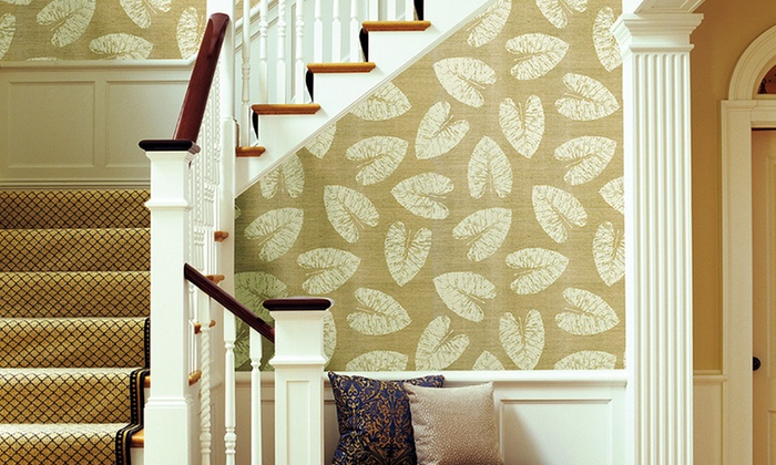 Decorative Grasscloth Wallpaper: Decorative Grasscloth Wallpaper. Multiple Styles Available from $49.99–$114.99. Free Returns.
