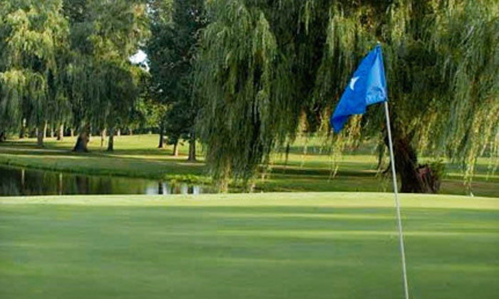 Emerald Hills Golf Club - Arnolds Park: 18-Hole Round of Golf for One, Two, or Four at Emerald Hills Golf Club (Up to 52% Off)
