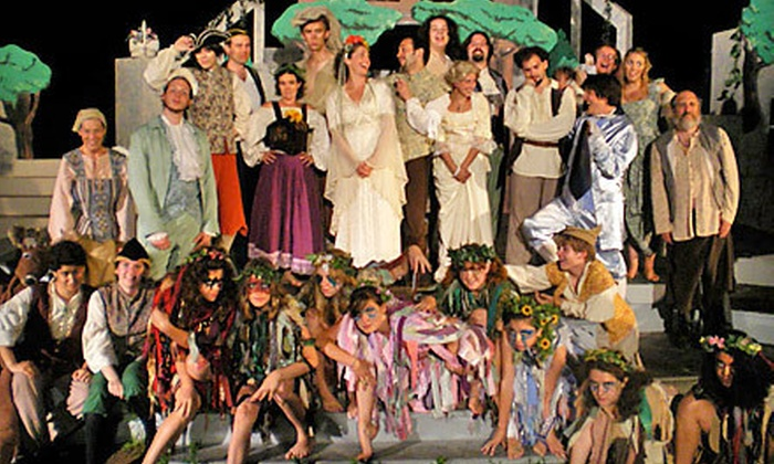 """""""As You Like It"""" presented by Hampshire Shakespeare Company - The Massachusetts Center for Renaissance Studies: Hampshire Shakespeare Company's """"As You Like It"""" for Two or Four in Amherst (Up to 61% Off)"""