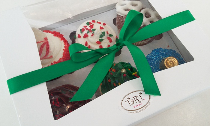 Tart Bakery - Highland Park: Gift Box of Half-Dozen Assorted Cupcakes, or $20 for a $30 store credit at Tart Bakery
