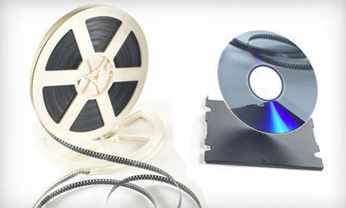 Such Media - Okemos: 250, 500, or 1,000 Feet of 8mm or Super 8mm Film Transferred to DVD at Such Media (Up to 55% Off)