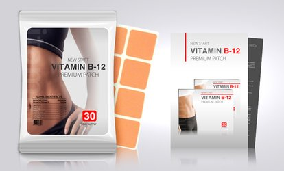 $17 for One 30-Pack of Vitamin B12 and Guarana Slimming Patches from MyBeautySecretsUSA ($99 Value)