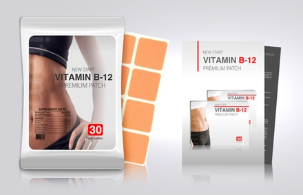 $18 for One 30-Pack of Vitamin B12 and Guarana Slimming Patches from MyBeautySecretsUSA ($99 Value)