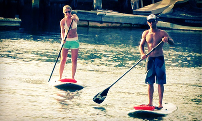 Kostal Paddle - Multiple Locations: 90-Minute Standup-Paddleboarding Lesson for One or Two People or Private Lesson for One at Kostal Paddle (Up to 65% Off)