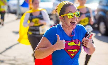 image for 5k Registration for The Super Run on May 12 (Up to 56% Off)