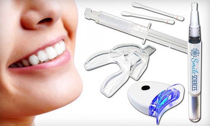 Smile Sciences Teeth-Whitening Kit: $29 for a Smile Sciences Teeth-Whitening Kit with LED Light and Whitening Pen ($299 List Price). Free Shipping.