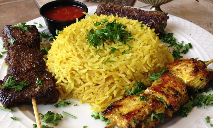 The Basha - Shawnee Mission: Mediterranean Dinner for Two or Four or Carryout at The Basha (Up to 48% Off)
