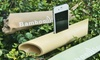 Handmade Bamboo Speaker for iPhone or iPod touch: Handmade Bamboo Speaker for iPhone 4/4s/5 or iPod touch