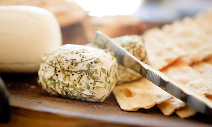 The Pantry by Stone Hollow Farmstead - Multiple Locations: Farm Tour and Cheese Tastings for Two or Four People at The Pantry by Stone Hollow Farmstead (Up to 47% Off)