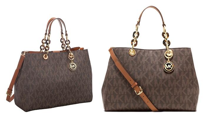 michael kors handbags groupon