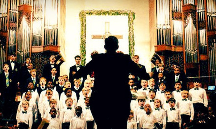 Christmas With The Georgia Boy Choir - Peachtree Road United Methodist Church: $20 for Christmas With The Georgia Boy Choir Concert at Peachtree Road United Methodist Church (Up to $46 Value)