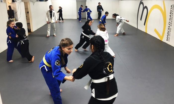 Marcelo Garcia Brazilian Jiu Jitsu - Bridgeport: 10 or 20 Drop-In Kids Martial Arts Classes at Marcelo Garcia Brazilian Jiu-Jitsu (Up to 70% Off)