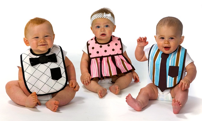 Trend Lab Dress Up Bibs for Infants