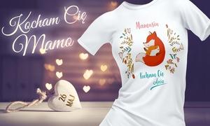 4myart - National: Koszulka na Dzień Mamy z nadrukiem za 29zł od 4myart (zamiast 59 zł)