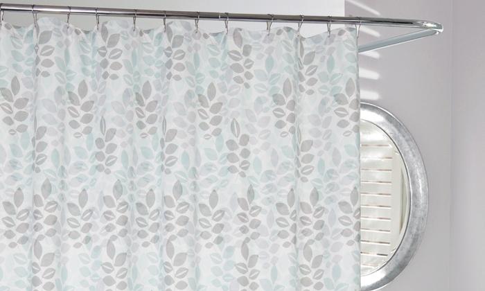 Delano microfiber shower curtain groupon goods for Delano promo code
