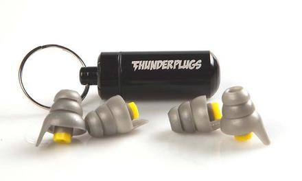 2 paia di tappi antirumore Thunder Plugs a 6,99 € o 4 paia a 12,99 € (fino a 64% di sconto)