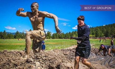 Insanity Mud Run on August 22 or 23 for One or Two at Music Mountain Amphitheater (Up to 65% Off)