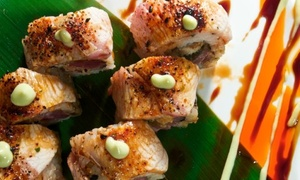 Kyoto Japanese Restaurant: Sushi and Japanese Food at Kyoto Japanese Restaurant (Up to 51% Off). Two Options Available.