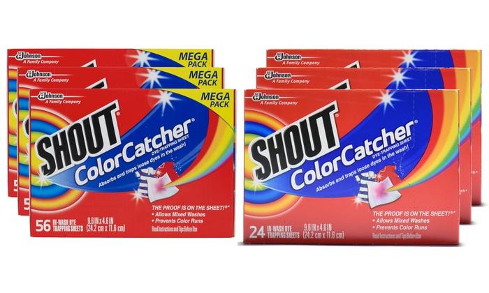 Shout Color Catchers Laundry Sheets (3-Pack) | Groupon