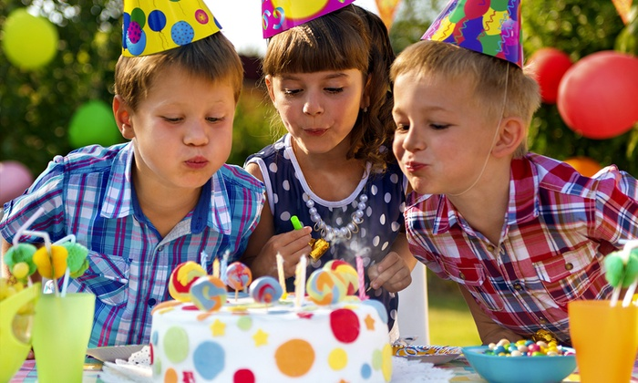Kids Themed Party Package Play Right Entertainment Groupon