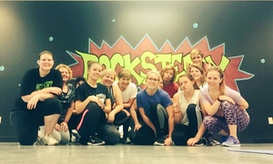 Rock Steady Dance Center: Five Dance-Fitness Classes at Rock Steady Dance Center (69% Off)