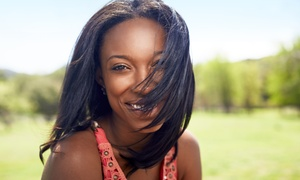 Urbane Blades: Blowout and Flat-Iron or Full Sew-In at Urbane Blades (Up to 35% Off)