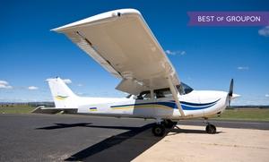 US Aviators: 90-Minute Flight Experience or 30-Minute Flight-Simulator Session at U.S. Aviators (Up to 76% Off)