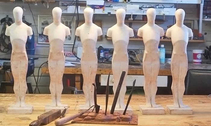 Calvo Studio - East Gloucester: Three-Hour Intro to Clay Modeling Class for One or Two at Calvo Studio (Up to 50% Off)