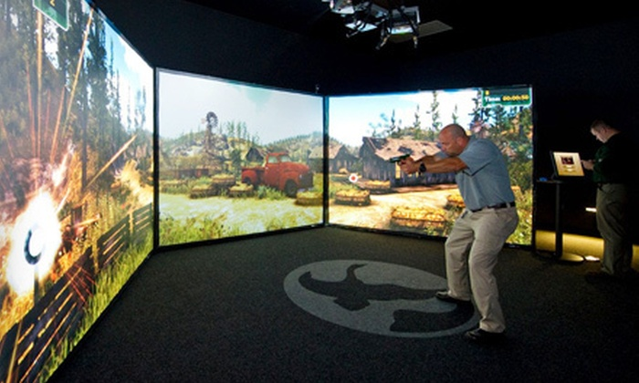 Gander Mountain Academy - Lakeville: $17 for Marksmanship Session in a 180-Degree Virtual Training Simulator for Four at Gander Mountain Academy ($35 Value)