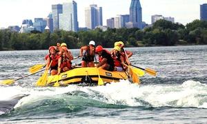 Rafting Montreal: 25 C$ pour une descente en rafting en eaux vives sur les rapides de Lachine avec Rafting Montréal (valeur de 47 C$)