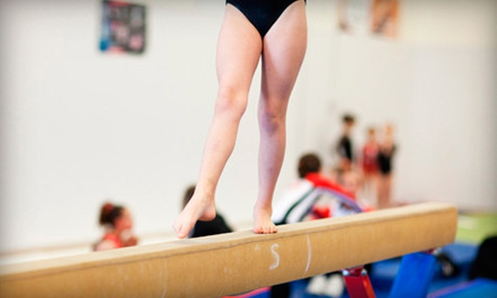 Eagle Ridge Gymnastics - Rio Rancho: $32 for One Month of Children's Gymnastics Classes at Eagle Ridge Gymnastics ($74.18 Value)