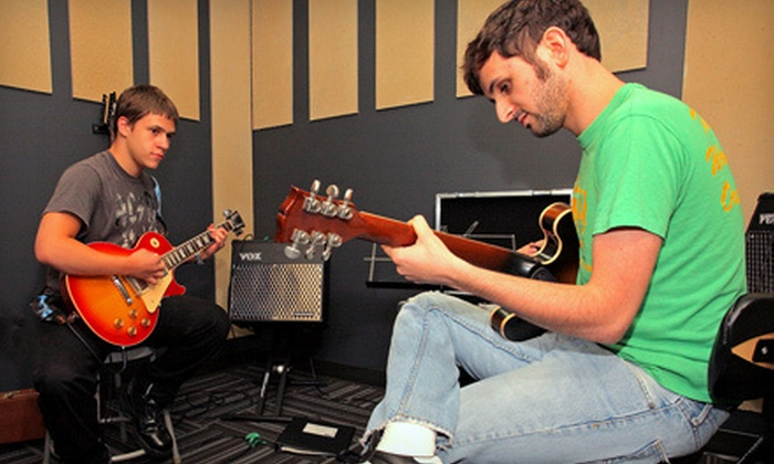 School of Rock Randolph - Randolph: $49 for Four Private Introductory Music Lessons at School of Rock Randolph ($195 Value)