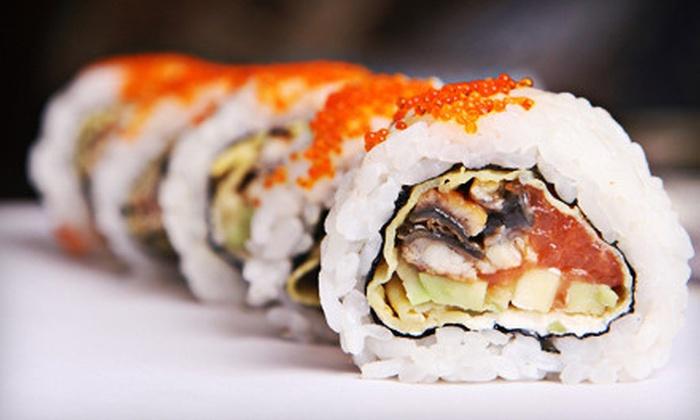 Kobe Cho Sushi - Mount Olympus: Sushi and Sashimi at Kobe Cho Sushi (Half Off). Two Options Available.